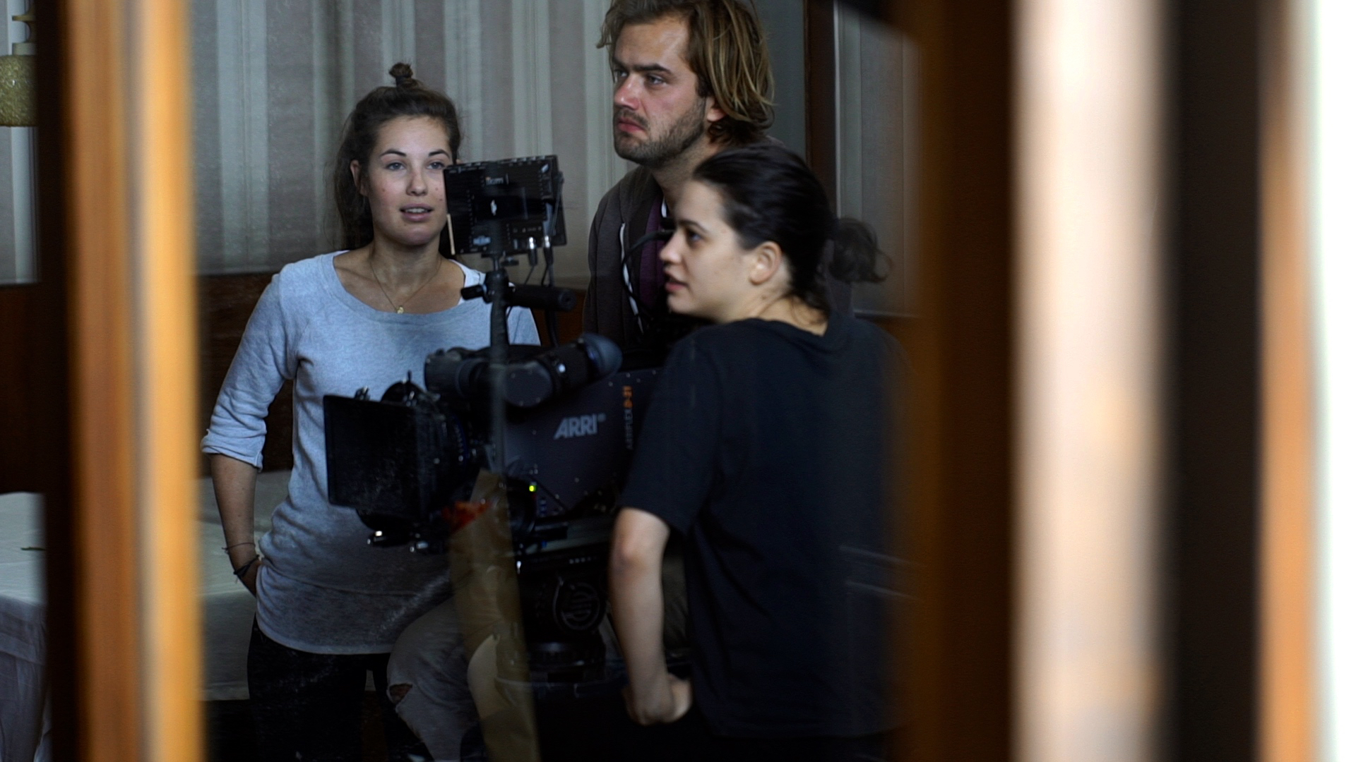 Clara-König-bei-der-Filmregieübung